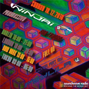 Podcast for Soundwave Radio rocking the World 24/7 >>> mixed by Ninjai 18.12.2016