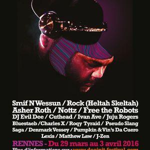 DJ Evil Dee live @The Dooinit Festival, Rennes, France