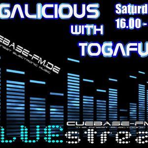 TOGALICIOUS mit Togafunk live @ Cuebase-fm.de Teil 1