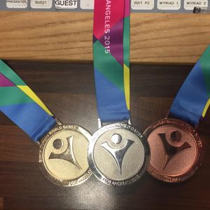 Interview with Mitchell Camp - 3 times medallist in the Special Olympics World Games 2015 - Part1