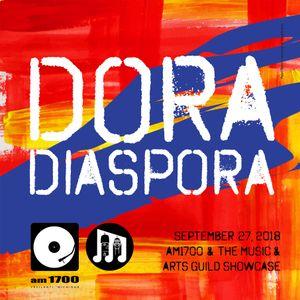 The Music & Arts Guild Showcase, Episode 102 :: Dora Diaspora :: 27 SEP 2018