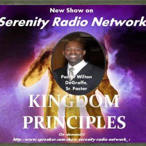 Kingdom Principles: In the Family, Work,  Community, Sr. Pastor Wilton DeGraffe