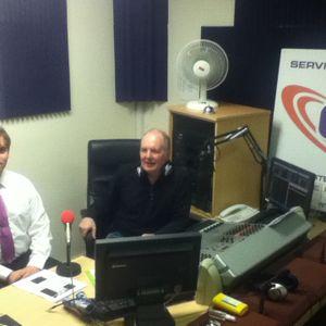 Pat Cafferkey and Diarmuid O'Riordan on the Johnny Oosten show!