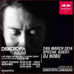 Diskotopia Radio 24th March 2016 w/ DJ Nobu