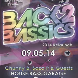Back2BASSic's 2014 Relaunch Promo Mix Vol 1