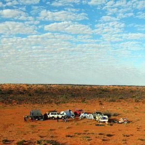 The Simpson Desert drive