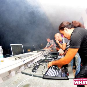 Urban Scars live set @ WhattaFuck! Pool Party