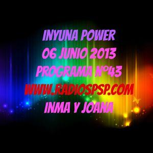 Inyuna Power 6-junio-2013 programa nº.43