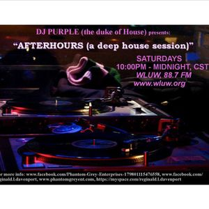 Afterhours (a deep house session), WLUW, 88.7 FM (Chicago) 10/7/2017