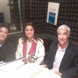 Angel Bruno y Agustin Brinso. Presidente y Secretario de la Comisión de la Ciudad Autónoma de Buenos