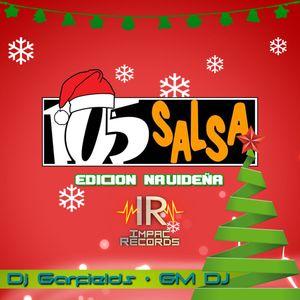 Salsero Mix By GM Dj-105Salsa-Edición Navideña