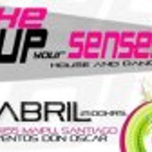 Dj Set Abril: Abel Reyes @ Wake Up Your Senses Maipu 2012