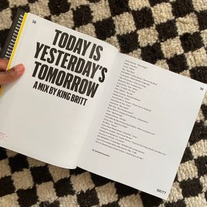 Todays is Yesterday's Tomorrow