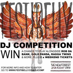Festibelly DJ Mix Competition - Jordan Rose