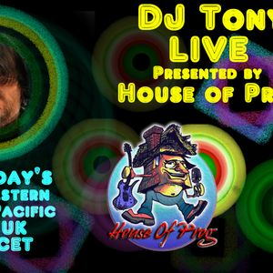 DJ Tony Live presented by House of Prog with special guests Bomber Goggles 3-17-18
