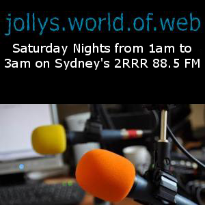 Jolly's World of Web Sun 09 February 2014