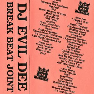 DJ Evil Dee - Break Beat Joint Mixtape