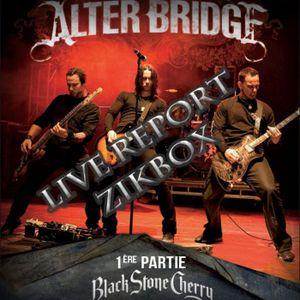 ZIKBOX - Live Report 03 - Black Stone Cherry & Alter Bridge