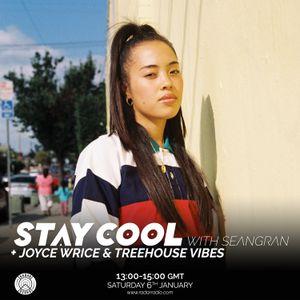 Stay Cool w/ seangran & Joyce Wrice & Treehouse Vibes - 6th January 2018