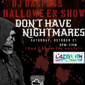 DJ Bagpuss live on Lazer FM 21 Oct - old skool and new skool darkside (early Hallowe'en show)