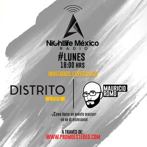 Distrito Live en Nightlife México Radio [6 JUN 2016]