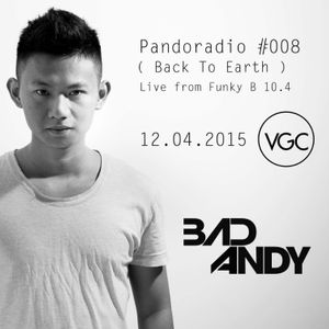 Pandoradio Podcast 008 (Back To Earth) - Live from FunkyB 10.4
