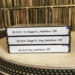 29.12.2001 Sugar D., KAY @ HeizHaus Zeulenroda