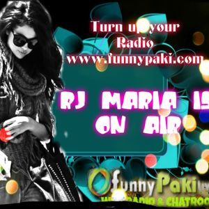 Rj^Maria Live From Lahore(funnypaki.com/chat) First show
