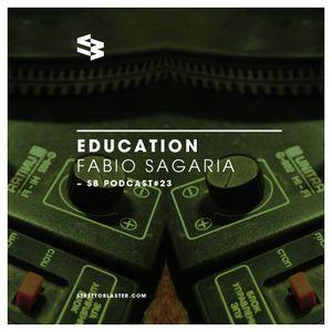 The Blast Podcast#23: Fabio Sagaria presents Education