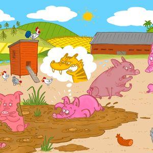 Sagan om grisen som trodde den var en tiger