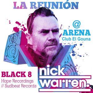 Black 8 @La Reunion - Arena Club, El Gouna (14-08-2015)