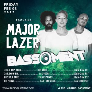 The Bassment 2/03/17 w/ Major Lazer by RadioBassment | Mixcloud