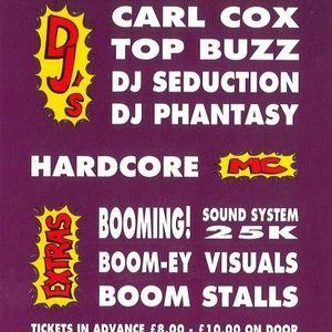 Carl Cox & Phantasy @ Boom Winter Gardens 2nd May 1992.