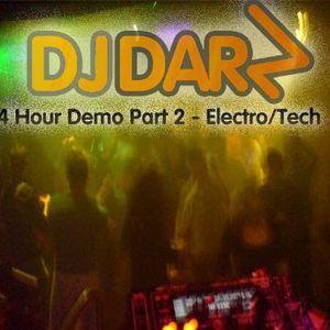 DJ Darz - 4 Hour Club Mix Demo (Summer 2007 Part 2 Electro/Tech House)