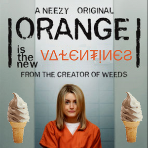 Orange is the New Valentines