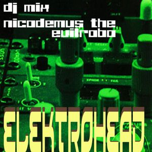 """ELEKTRO-HEAD"" dj mix by Nicodemus the evilrobo"