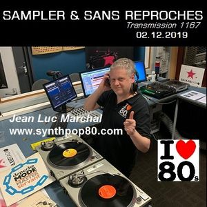 RADIO S&SR Transmission n°1167 - 02.12.2019 SPECIAL  JL MARCHAL (www.synthpop80.com)