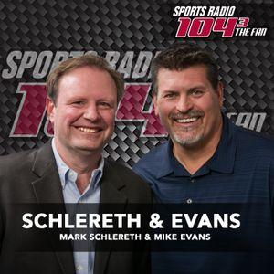 Schlereth & Evans hour 1 9/9/16
