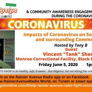 "Coronavirus Special 41 - Vincent ""Tank"" Sherrill"