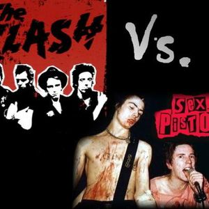 Sex pistol and the clash