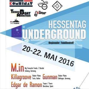 Killagroove - Live Set - Hessentag Underground 2016 In Herborn - Kombiant Events - 21/05/2016