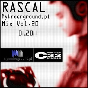 Rascal - MyUnderground.pl Mix Vol.20 [Banging, Tribal, Acid, Hard Techno]