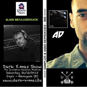 "RADIO S&SR Transmission n°989 -- 07.12.2015 (Top Of The Week ""ALEK DRIVE"" + Fest. ""Dark X-mas Show"")"