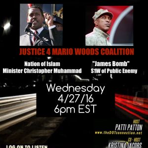 4/27/16 - Justice 4 Mario Woods Coalition - PE S1W  James Bomb and NOI Minister Christopher Muhammad