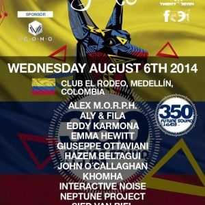 Interactive Noise  -  Live At FSOE 350, Club El Rodeo (Medellin, Colombia)  - 06-Aug-2014