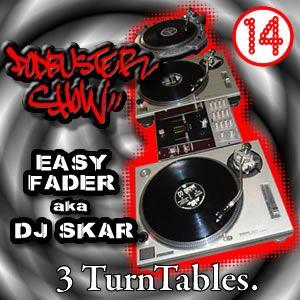 DJ SKAR podbuster show 14 - 3 turntables