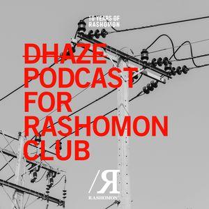 DHAZE podcast for Ten Years of Rashomon Club