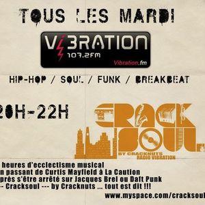 Cracksoul Radio Show 26/10/10 - part 1 - with guest Uman