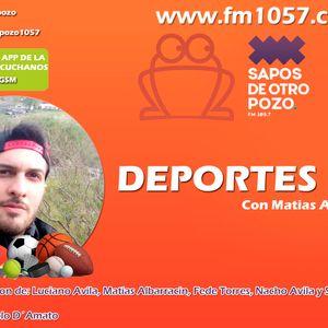 Deportes con Matias Albarracin programa del 28-03-2016