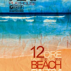 PLAY @ Playhouse - 12 ore - Beach Party - Passaggio a Nord-Ovest - Massimo Ramon 16.08.2012